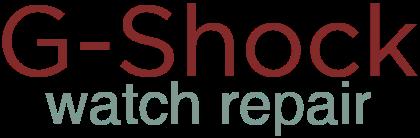 G Shock Watch Repair